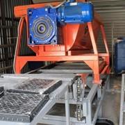 Мобильная полуавтоматическая линия для производства вибролитой плитки ТФС-001 фото