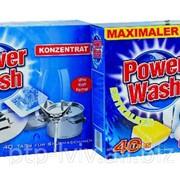 Таблетки для посудомоечной машины Power Wash 0,800 кг. фото