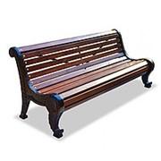 """Скамейка парковая """"Родник"""", кресло, 0,6м фото"""