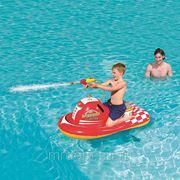 """Игрушка надувная """"скутер"""" в комплекте с водомётом 140*84см. (подарочная упаковка) (829085) фото"""