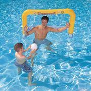 Ворота надувные для водного поло в комплекте с мячом 137*66см. (подарочная упаковка) (829096)