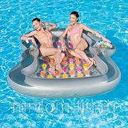 """Матрас для плавания двухместный """"дизайнер"""" 216*178см. (подарочная упаковка) (818439)"""