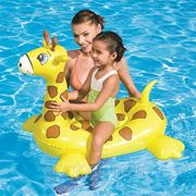 """Игрушка надувная """"жираф"""" 117*71см. (упаковочный пакет орр, с подарочной вставкой) (829087) фото"""