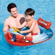 """Лодка надувная (детская) """"spider-man"""" 112*70см. (подарочная упаковка) (829142)"""
