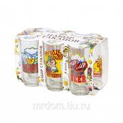 Набор стаканов для сока приколы 6шт (146-д) (868809) фото