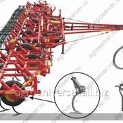 Культиватор полевой КШУ-12 (шарнирно-пружинная стойка, 3-х ряд.пруж. борона) (230 – 250 л.с.) фото