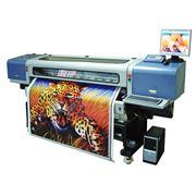 Печать широкоформатная на баннерной ткани фото