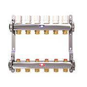 Коллектор для системы отопления на 8 контуров с балансировочными клапанами ITAP фото
