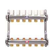 Коллектор для системы отопления ITAP на 6 контуров с балансировочными клапанами фото