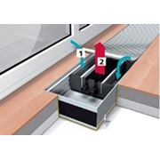 Внутрипольный конвектор Mohlenhoff WSK 410-140-5000 фото