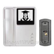 Видеодомофон черно-белый Jeja фото