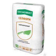 Кладочный раствор ОСНОВИТ СЕЛФОРМ Т-112 (20 кг) фото