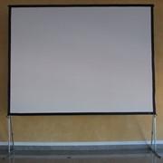 Складывающийся экран фронтальной и обратной проекции E-Set ESF200VF/VR фото