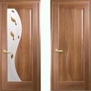 Дверь из бруса Новый стиль Эскада золотая ольха фото
