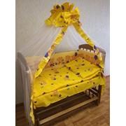 Комплект детского постельного белья к-06 МК (7 предметов) фото