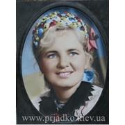 Цветной 3Д портрет фото