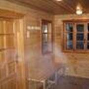 Бани деревянные, бани из бруса, бани из сруба, проектирование и строительство фото