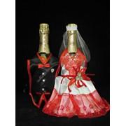 Одежда на шампанское №1 красная фото