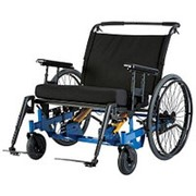 Широкая инвалидная коляска для полных людей Eclipse Tilt, ширина сиденья 50-102 см, грузоподъемность 270-450 кг LY-250-1202 фото