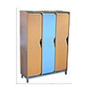 Шкаф для одежды на металлокаркасе № 3 фото