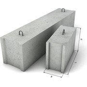 Блок стеновой фундаментный ФБС фото
