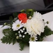 Живые цветы на свадьбу фото
