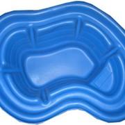 Пруд 140л, цвет синий фото