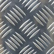 Лист алюминиевый рифленый 2,0мм (3мм с рифлением) фото
