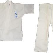 Доги с вышивкой стиля ояма-каратэ фото