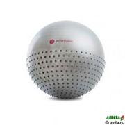 Мяч для фитнеса 2 в 1 Fitness Massage ball 65 см (с насосом) фото