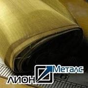 Металлотканное полотно из латунной проволоки 0.071х0.071х0.05 по ГОСТ 6613-86. Купить сетку тканую латунную фото