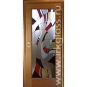 Витраж дверной фото