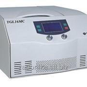 Настольная высокоскоростная охлаждаемая лабораторная центрифуга TGL16MC фото