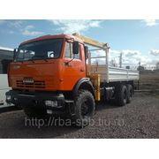 КАМАЗ-43118+SOOSAN SCS513 борт 6,2 м фото