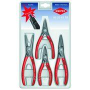 Наборы инструментов Knipex Набор прецизионных щипцов для стопорных колец 002003SB фото