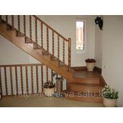 Лестницы из массива древесины