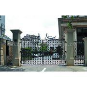 """Кованые ворота """"Вигнор"""" фото"""