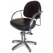 Кресло парикмахерское Карина на гидравлике фото