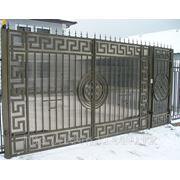 Ворота распашные арт.2 Алматы фото