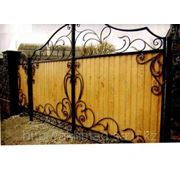 Ворота распашные Алматы фото