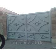 Ворота распашные (4х2 , калитка 1х2) фото