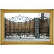 Ворота под заказ фото