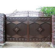 Распашные ворота HARDWICK фото
