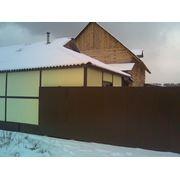Ворота сдвижные 3500х2100 фото
