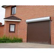 Ролетные ворота для гаражей фото