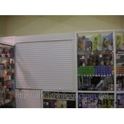 Защитные ролеты для магазинов и ларьков фото