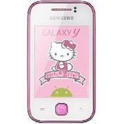 Телефон Samsung S5360 Hello Kitty Galaxy Y White