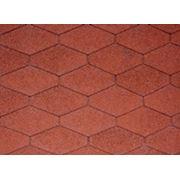 Битумная черепица IKO DIAMANT Tile Red фото