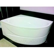 Акриловая ванна угловая асимметричная ORBITA 140x100 POOLSPA (Польша-Испания)