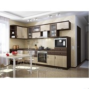 Серия мебели для кухни Сантана фото